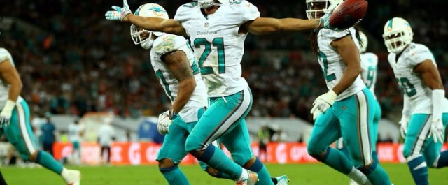 Brent Grimes makes nasty interception : Video