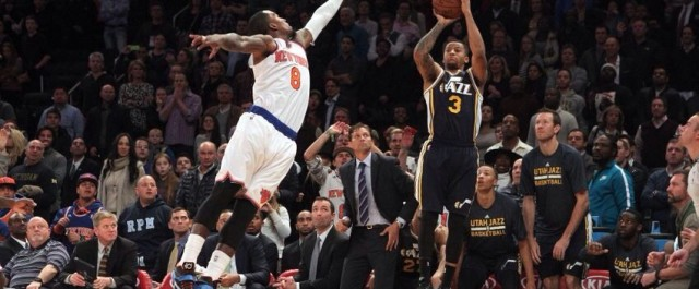 Trey Burke matches Melo for game winner: Video
