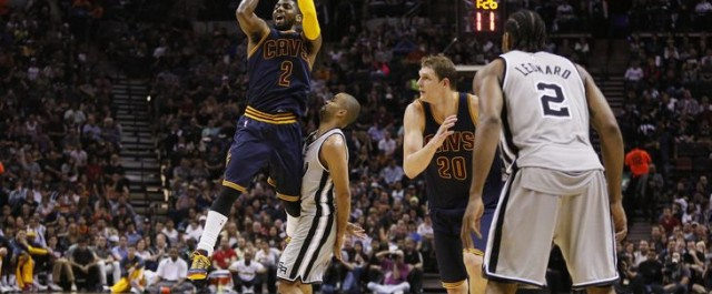 Kyrie Irving Goes Uncle Drew on the San Antonio Spurs