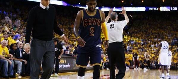 Breaking News: Kyrie Irving out for 3-4 months with fractured knee cap