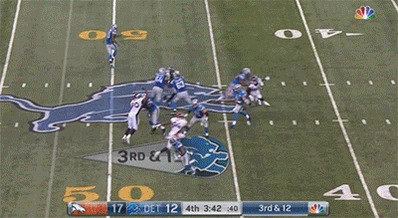 Watch: David Bruton Jr. dope interception of Matt Stafford