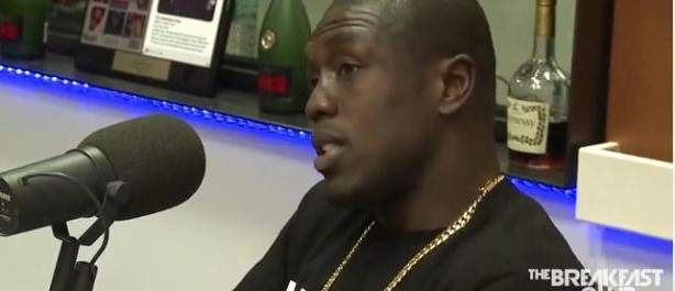 Watch: Andre Berto talk Mayweather fight on The Breakfast Club