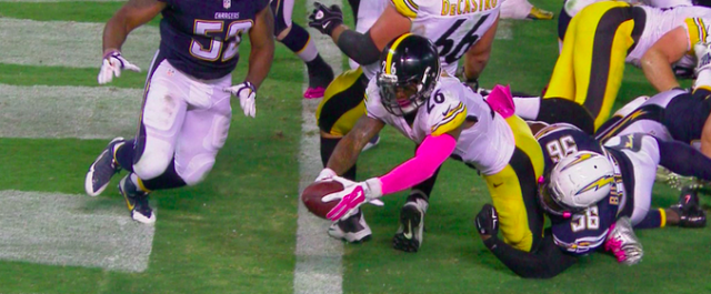 Saved by the Bell: Pittsburgh Steelers Defeat the San Diego Chargers in Dramatic Fashion