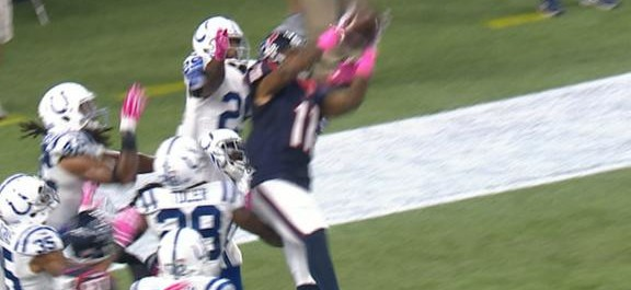 Watch: The Colts display terrible defense on a Brian Hoyer Hail Mary attempt