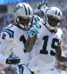 NFL Jerseys Online - Ted Ginn Jr. Reunites with Cam Newton and the Carolina Panthers ...