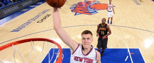 NY Knicks Rookie Kristaps Porzingis Has Taken the NBA By Storm