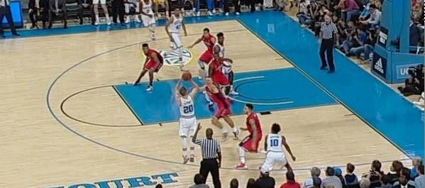Watch: Bryce Alford's game winning three pointer to knock off #7 Arizona 87-84