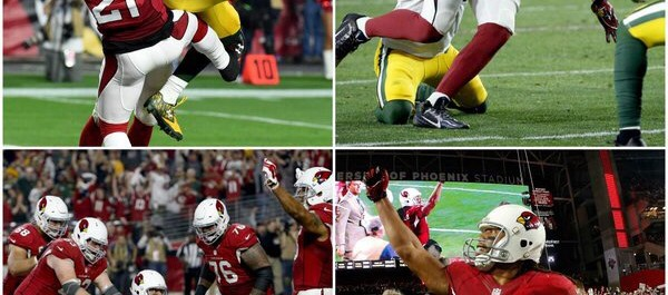 Highlighting the big plays in the Cardinals Packers thriller
