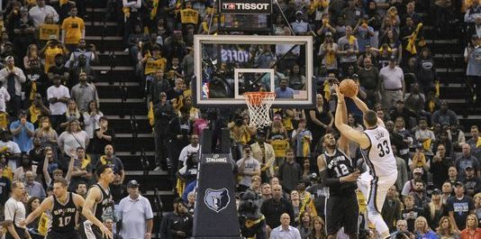 Video: Marc Gasol hits game winner versus Spurs in Overtime, NBA Playoffs