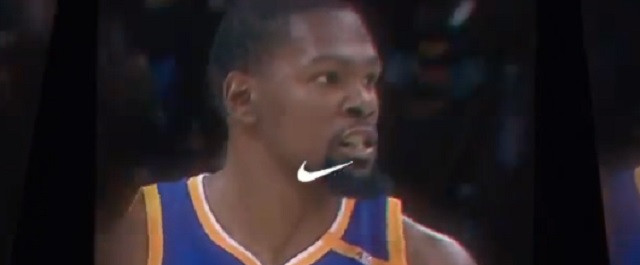 Kevin Durant's post NBA Finals, Nike Commercial