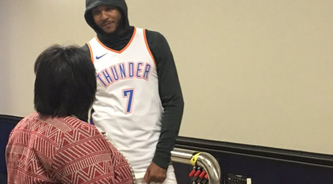 Can Carmelo Anthony rebuild in OKC?