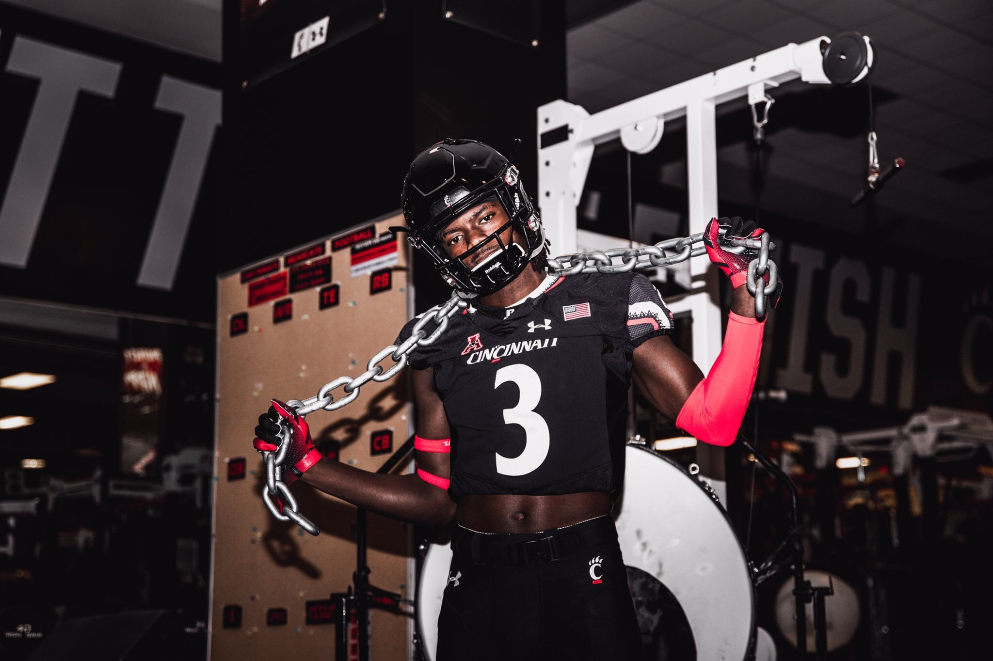 2020 Juco Wr Dalrone Donaldson Enjoyed His Recent Cincinnati Visit The Front Office News